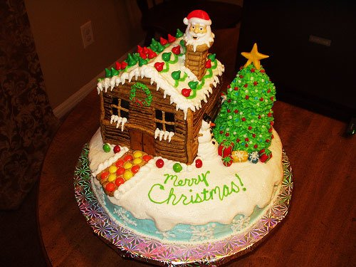 Christmas cakes hd Images 2016